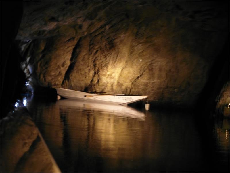 Der gr sste unterirdische see europas lac souterrain die sch nsten pl tze der welt - Was ist souterrain ...